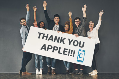 Thank You Apple!!!