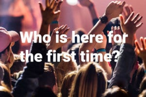 Who is here for the first time?