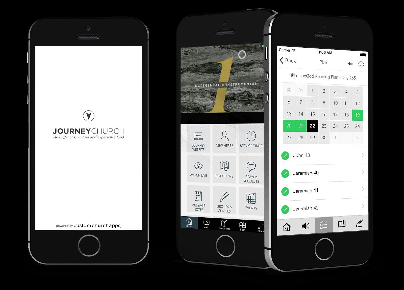 Our Journey Church - Custom Church Apps