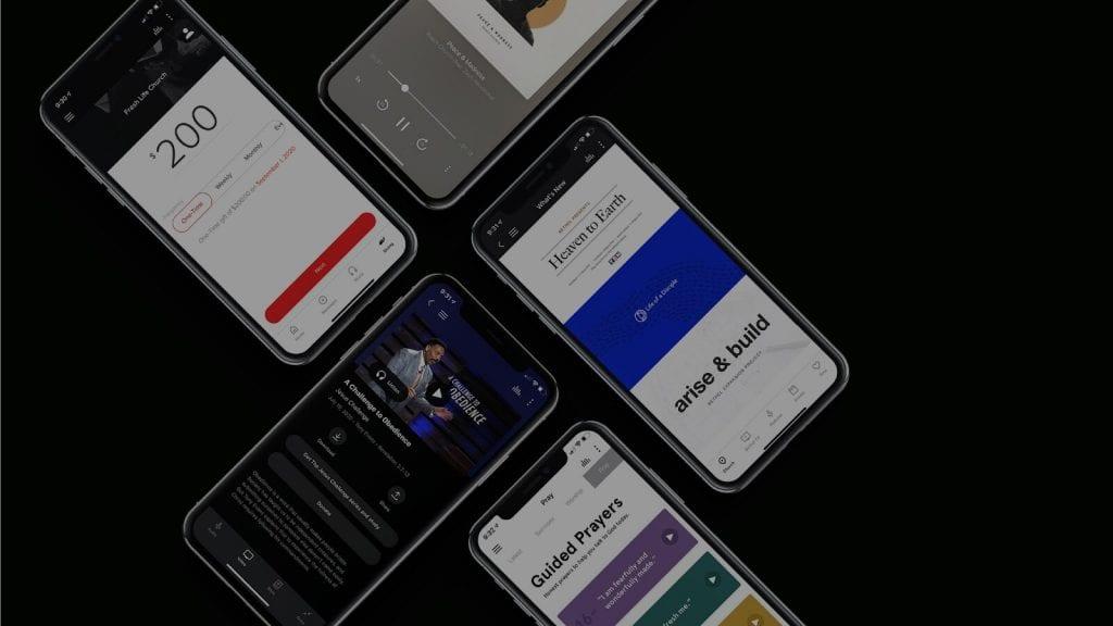 How to create a church app